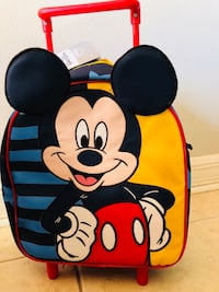 Black and yellow mickey mouse print bag Pinecrest, 33156