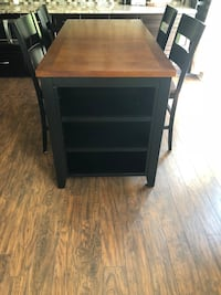 Dining room set with built in shelves Streamwood