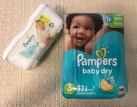 Pampers Diapers Wipes New Set Riverside, 92503