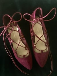 Suede lace up flats  Chandler, 85249