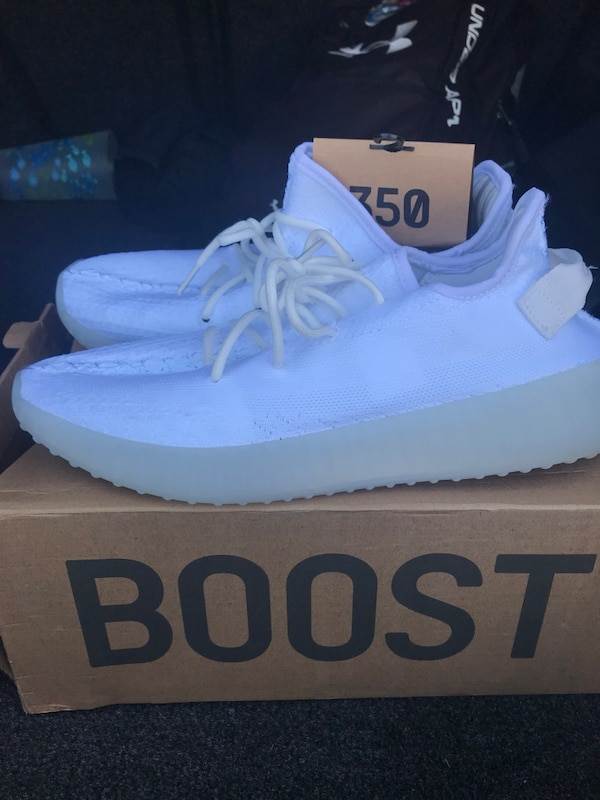 7af40343c35 Used Yeezy boost splv-350 w  box size 12.5 for sale in Tampa - letgo