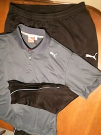 black and gray zip-up jacket 1962 km
