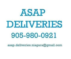 ASAP Deliveries - Pick ups and Drop offs CHEAP