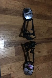 Universal strap on towing mirrors