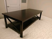 Rectangular Black Wooden Coffee Table Alexandria, 22301