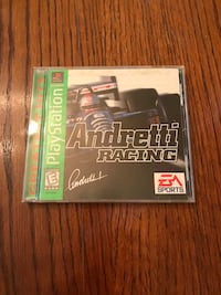 Andretti Racing For Sony PlayStation PS1 With Instructions Works Louisville, 40213