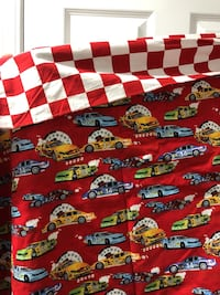 Curtains - Car Print Double Curtain for Kids Room