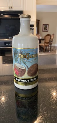 Sangster's Jamaican Coconut Rum Bottle