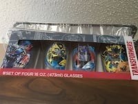Transformers set of 4 glasses 16oz Maryville, 37804