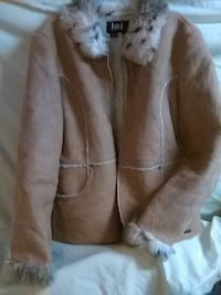 brown with parka winter coat