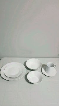 Porcelain Dinnerware Set Burlington