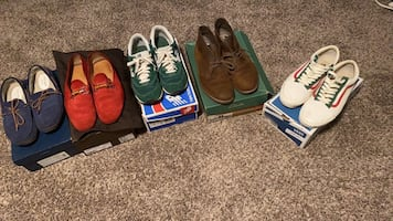 Shoes size 10.5 and 11