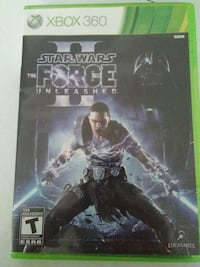 XBOX 360 STAR WARS THE FORCE UNLEASHED 2 GAME Pickering, L1V 3V7