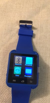 black and blue smart watch Omaha, 68132
