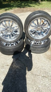 Used KMC Rims and GoodYear tires..$250 O.B.O. Lexington