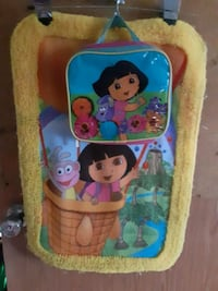 Dora rug and lunch bag