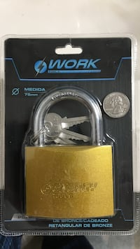 Reduced for a quick sale: Large Hardened Padlock Gaithersburg, 20877