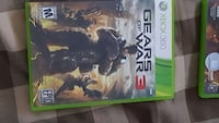 Gears of War 3 Xbox 360 game works with Xbox 1 Canandaigua, 14424
