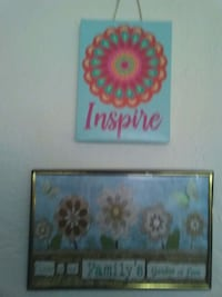 two brown wooden framed painting of flowers Reno, 89506