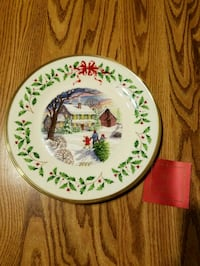 Lenox Annual Holiday Collector Plate 2000 Gettysburg, 17325