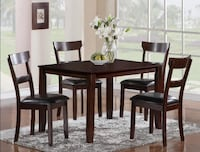 New Dining Table Set Five Piece