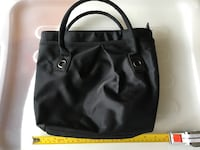 Black nylon tote purse  Toronto, M5J