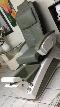 gray and white recliner chair West Vancouver, V7S 1L8