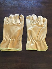 New work leather gloves size L Los Angeles, 91325