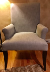PB roll arm accent chair, Grey