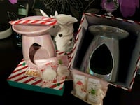 Pink or grey melt warmer Xmas gift set West Midlands, B70