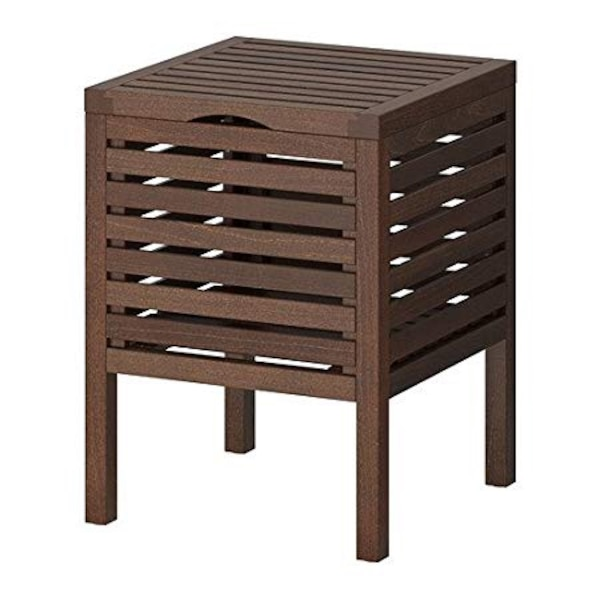 Ikea Wooden Storage Stool London Se16 6aq 1 3