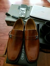 pair of brown leather loafers Norcross, 30093