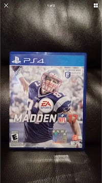 Madden NFL 17 PS4 game case Cornelius, 28031
