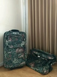 TWO Carry-on Suitcases