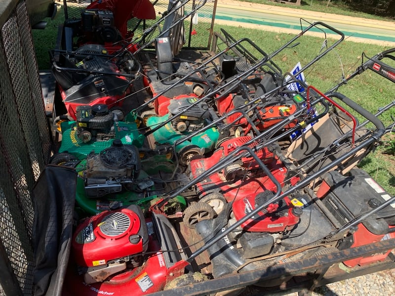 A bunch of lawnmowers for sale. Need gone ASAP 46c3ee83-7544-46a0-ad16-58588a2fc625