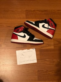 "Air Jordan 1 ""black toe"" Atlanta, 30308"