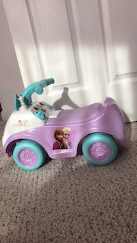 Frozen ride-on toy