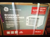 NEW GE ROOM AIR CONDITIONER 6 000 BTU/hr-11.0CEER - 115volts/ 15Amps AEL06LX 250 SQ.FT (10'x25') Los Angeles, 91343