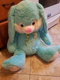 Giant blue Easter bunny ex condition Toms River, 08753