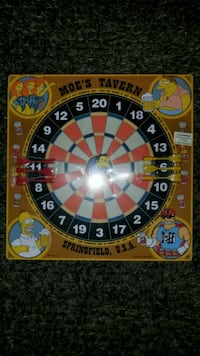 Vintage 92' SIMPSONS DARTBOARD...