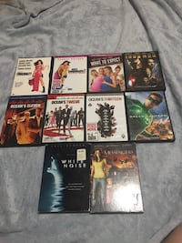 Lot of 10 DVDs Hagerstown, 21740