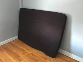 Futon mattress with cover