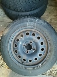 black bullet hole vehicle wheel and tire Kitchener, N2G