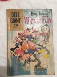 Bug's Bunny Winter Fun Vintage Comic Book #28 Halethorpe, 21227