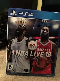NBA 2k18 Live for PS4 604 mi