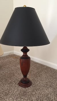 brown and black table lamp 172 km