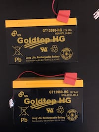 FiOS battery Goldtop HG 12V 8Ah