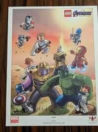 New Lego Avengers Art Print Cambridge