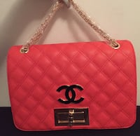 Red-orange Chanel bag  Newark, 07112