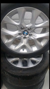 (19's)4 BMW WHEELS AND TIRES NEW 5 LUG(Deal) Herndon